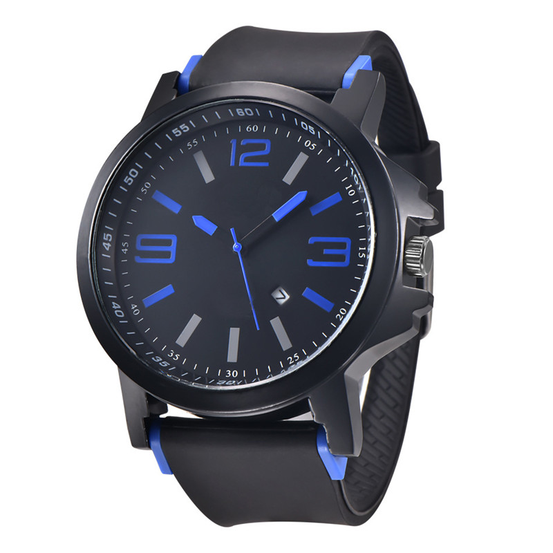 Cindiry Mens Watches Top Brand Luxury Sport Quartz Watch Army Military Clock Male Waterproof Date Wristwatch relogio masculino top brand sport men wristwatch male geneva watch luxury silicone watchband military watches mens quartz watch hours clock montre