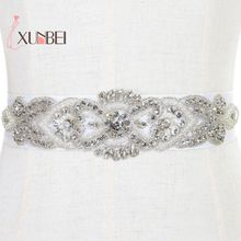 Newly Rhinestone And Pearls Wedding Belts For Dresse 2017 White Bridal Sash Accessories Cheap Cinturones Novias