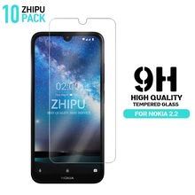 10 Pcs Tempered Glass For Nokia 2.2 Screen Protector 2.5D 9H Premium Protective Film
