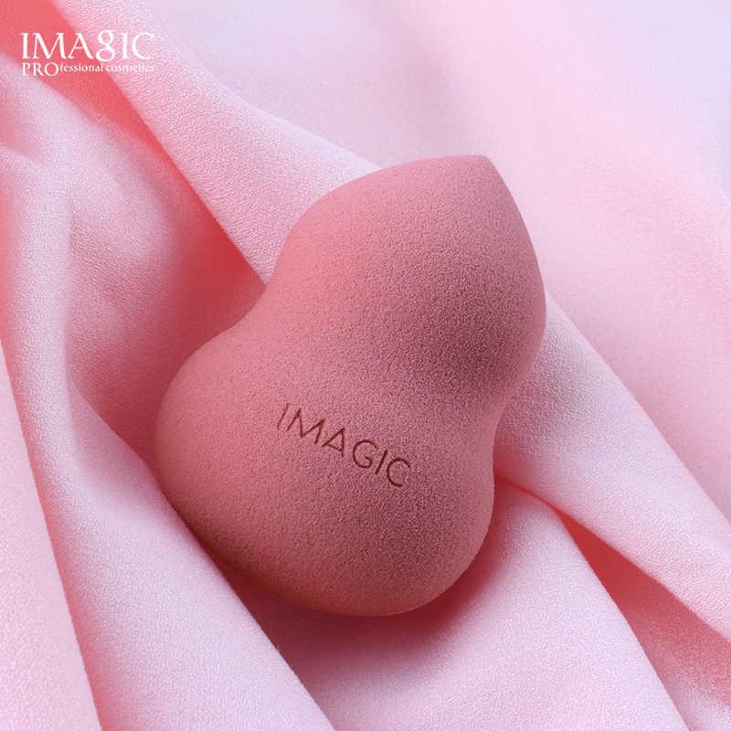 IMAGIC 1 pc Em Pó Fundação Maquiagem Esponja Cosméticos Puff Flawless Pó Beleza Suave Maquiagem Esponja Ferramentas de Beleza