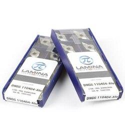 LAMINA DNGG110404-ALU LT05 DNGG331/DNGG110408-ALU LT05 DNGG332 CNC Carbide inserts For Aluminum 10Pcs/Box Original New