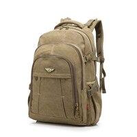 Vintage Backpack Fashion Canvas Backpack Sport Leisure Travel Outdoor School Bags Laptop Computers Unisex Rucksacks Men