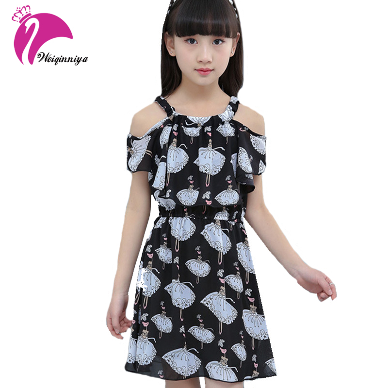 Summer Dress For Girls 2017 New Brand Lolita Style Pattern Princess Dresses For Kids Girl Print Vestido Infantis Kid Clothes Hot geckoistail 2017 new fashional women jacket thick hooded outwear medium long style warm winter coat women plus size parkas