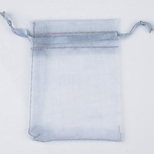 Image 4 - 500 ピース/ロット卸売オーガンザバッグ 7x9 9 × 12 10 × 15 13 × 18 センチメートル Drawable の結婚式包装ギフトバッグパーティージュエリーバッグポーチ
