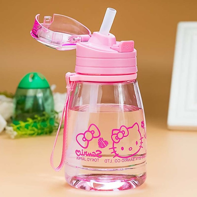 Baby Bottle with a Straw