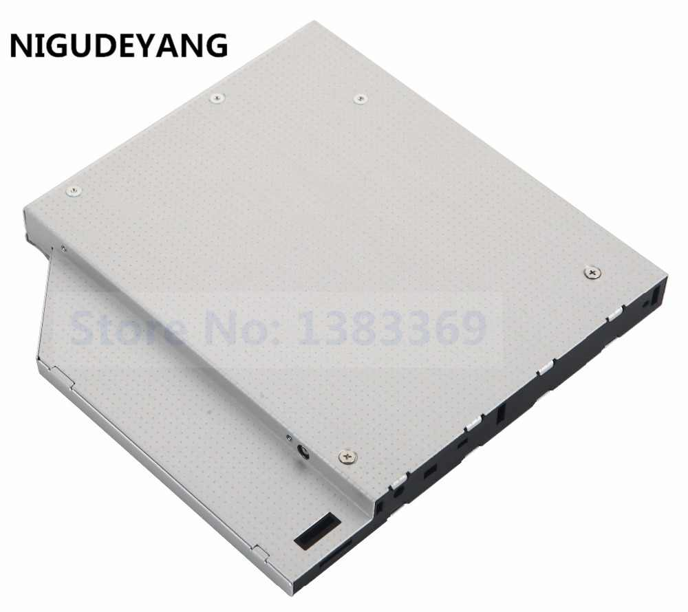 NIGUDEYANG 2nd HDD Disco Rígido IDE Adapter Caddy para Acer Aspire 5570Z A9RP A9RP-5A053H Swap UJ-850 UJ DVD-870