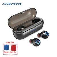 Anomoibuds Capsule Pro 50 Hour Playtime поддержка AAC TWS наушники V5.0 Bluetooth наушники глубокий бас Hi-Fi стерео наушники