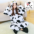 Pyjamas Christmas Entero Women Sleep Pajamas Sleepwear Animal Pajamas One Piece Pyjama Dairy cow Femme Home Clothing Pigiami