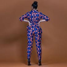 Women Summer Clothes Short Sleeve Deep V-Neck Ladies Floral Print Casual Playsuit loose Party Jumpsuit Long Trouser Polyester plunge v neck floral print playsuit with long sleeves