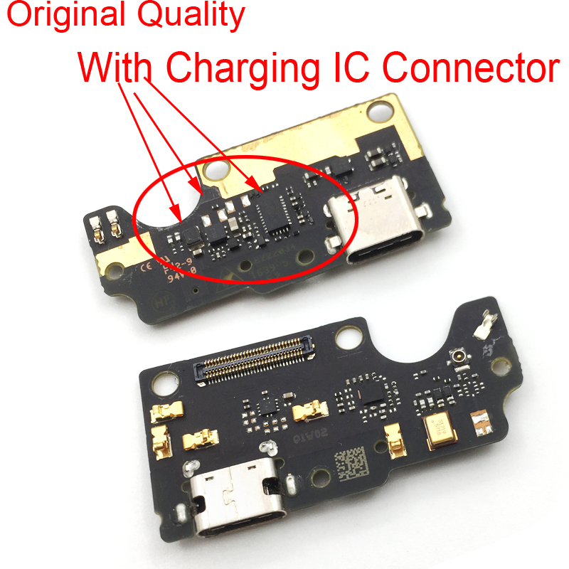 10Pcs/Lot,USB Charging Charger Port Dock Connector Board For ZTE Axon7 A2017