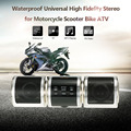 Universal Motorcycle High Fidelity Stereo Waterproof MP3 Player Speaker FM Radio Audio System for Scooter Bike ATV