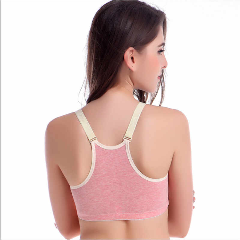 7218102a7a69a ... Pregnancy   Maternity Underwear Wireless Cotton Nursing Bra 2-Way  Closure Pregnant Breast Feeding Bras ...