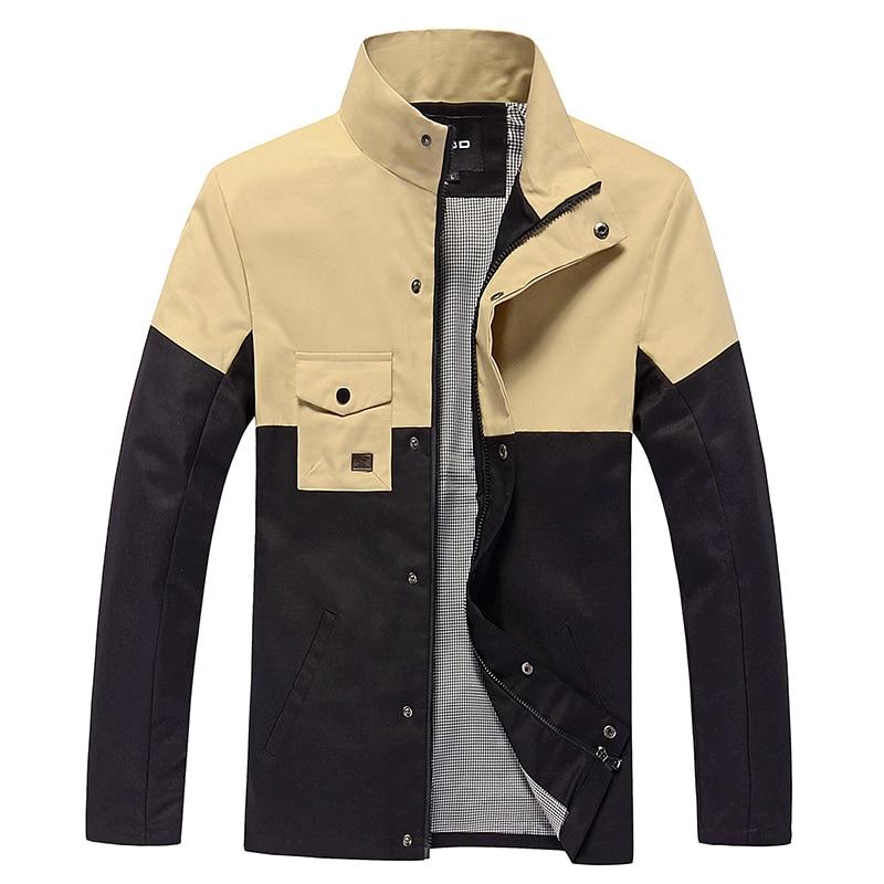 Nove jesenske in zimske moške bombažne jakne stoji ovratnik moške - Moška oblačila - Fotografija 2