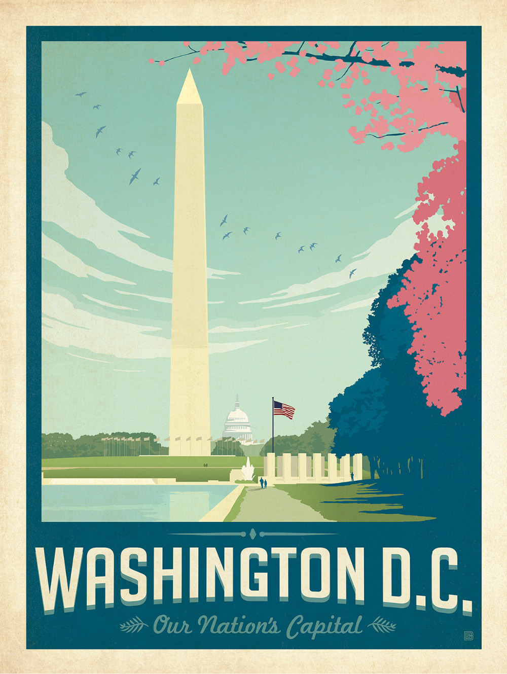 Map Wall Sticker Picture More Detailed Picture About Washington - Washington dc map art print