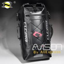 Completo Impermeabile Zaino Trekking Pacchetto Coda di Borse da Sella Posteriore del Motociclo Casco Caduta Borsa Moto