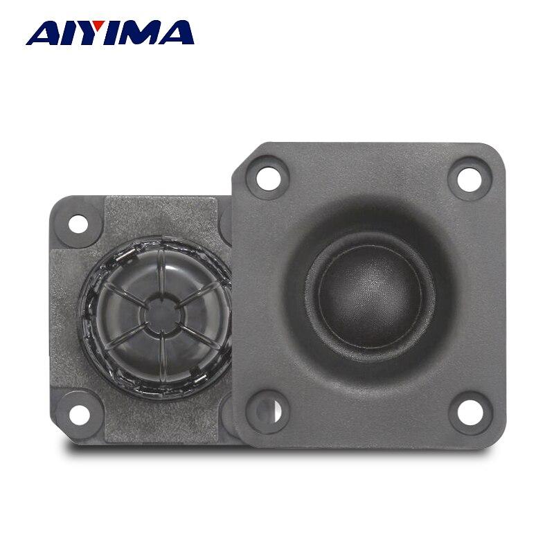 AIYIMA 2Pcs Audio Portable Speakers 4Ohm 25W 58x51MM DIY Tweeter Loudspeakers
