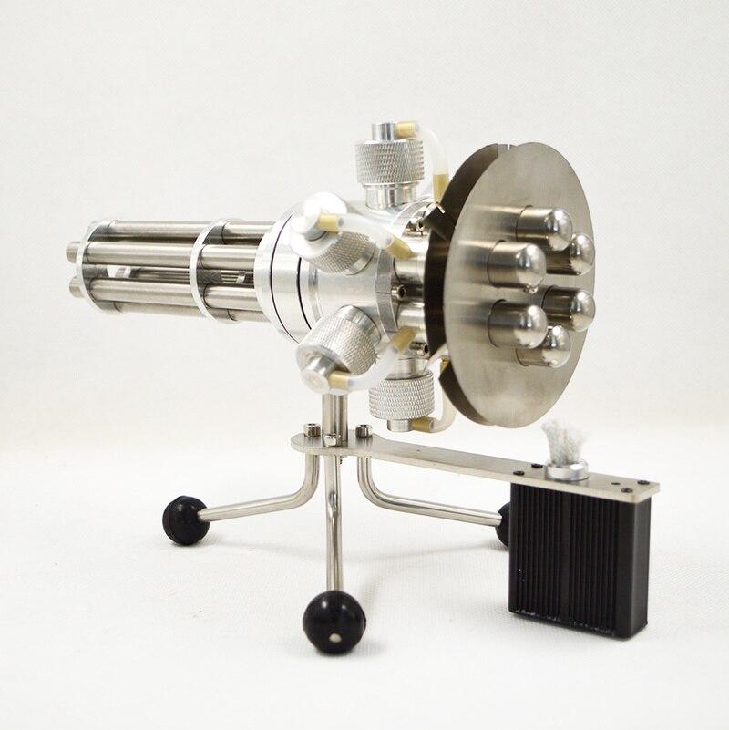 Six cylindres Sterling moteur modèle Gatlin moteur Science et technologie cadeau créatif cadeau d'anniversaire 2019 nouveau Design