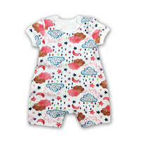 Baby Clothes Baby Bodysuit Newborn Bebe Boy Clothing 100%Cotton clothes Cute Cartoon Printed
