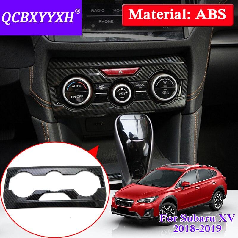 QCBXYYXH Car Styling Conditional Panel Decorative Sequin For Subaru XV Impreza 2018 Center Console Sticker Auto