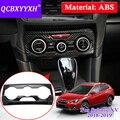 QCBXYYXH автомобильный Стайлинг условная панель декоративная блесток для Subaru XV Impreza 2018 центральная консоль наклейка авто внутренняя рамка