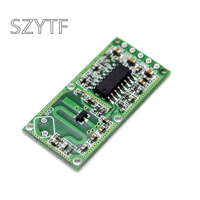 Smart Electronics RCWL-0516 microwave radar sensor module Human body induction switch module Intelligent sensor