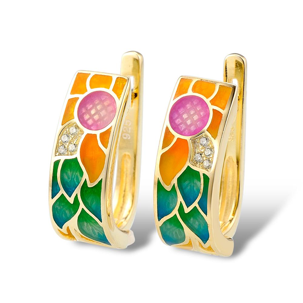 SANTUZZA ασημένια σκουλαρίκια για - Κοσμήματα μόδας - Φωτογραφία 3