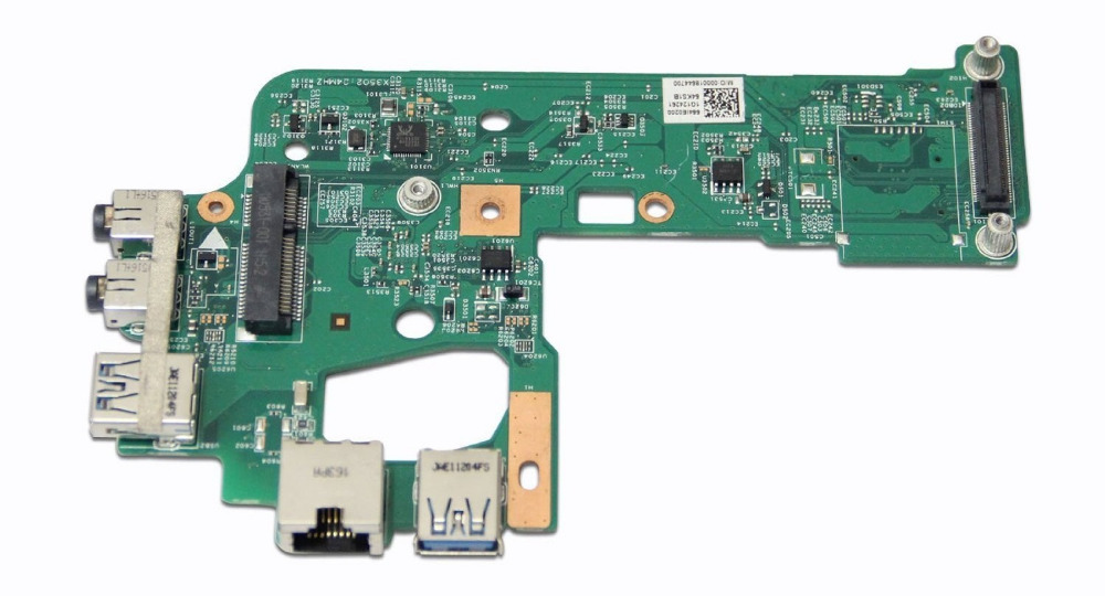 WZSM Laptop DC Power Jack USB Audio Board for Dell Inspiron N5110 7WKTD 2F34T 48.4IE14.011 for macbook air usb i o audio board 820 3213 a 11 laptop a1465 power dc jack md223 md224 2012