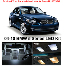 1 Xenon White Package Kit LED Interior Lights For BMW 5 Series E60 525i 528i 530i 535i 550i M5 2004-2010
