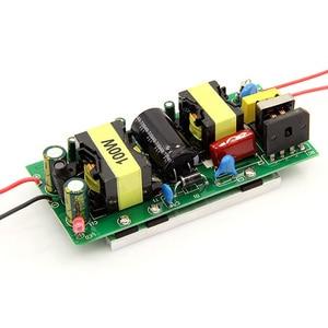 Image 2 - Yüksek kaliteli LED Sürücü 100 W adaptör güç kaynağı 100 W yüksek güç ışık lamba AC 85 ~ 265 V 30 ~ 36 V LED Işıldak Ampul