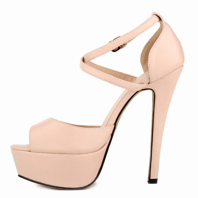 c2a6670d29e LEATHER BRAND NEW WOMEN LADIES PARTY PLATFORM PUMPS KILLER PU HIGH HEELS  STILETTO SHOES FREE SHIPPING-in Women s Sandals from Shoes on  Aliexpress.com ...