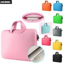 Jacodel Neoprene Laptop Sleeve Case Notebook Sleeve Bag for Macbook Air Pro Retina Lenovo Computer HandBag Tablet Sleeve Case