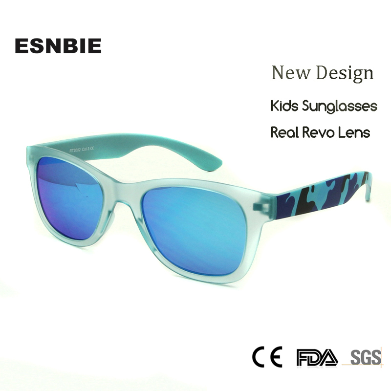 ESNBIE Newest Kids Sunglasses UV400 oculos Children Sun Glasses for Boys Girls Unisex Go ...
