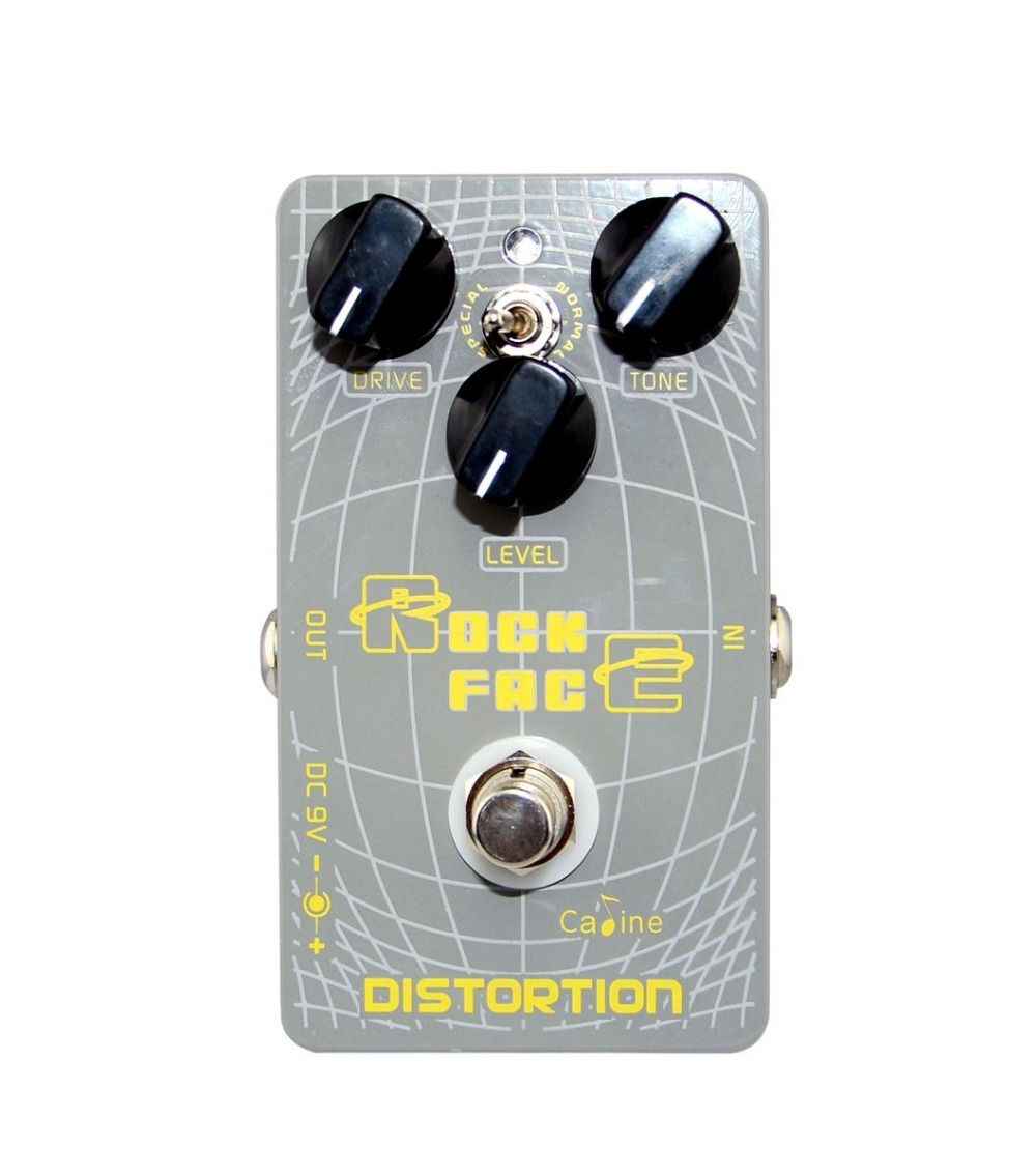 Hot Sell Distortion Guitar Effect Pedal Aluminum Alloy Housing Ture Bypass Caline  Mini Size and Space-saving mooer ensemble queen bass chorus effect pedal mini guitar effects true bypass with free connector and footswitch topper