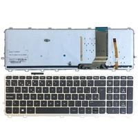 Spanish Laptop keyboards for HP envy 15 J 15T J 15Z J 15 J000 15t j000 15z j000 15 j151sr SP with frame backlight keyboard