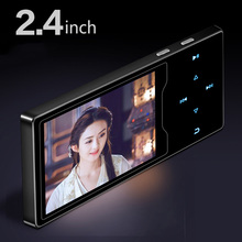 New RUIZU D08 Mp4 Player Usb 8Gb 16G Storage 2.4inch HD Screen Built-in Speaker fm Radio E-Book portable Music video Player new ultrathin mp3 music player 4gb storage 1 8 inch screen can play 80hours original ruizu x02 with fm e book voice recorder
