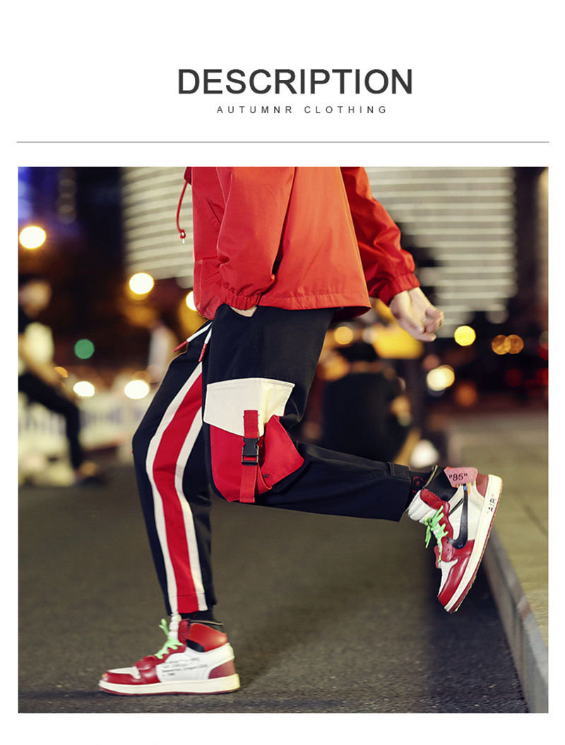 Cool Cargo Pants Men Casual Hip Hop Fashion (4)