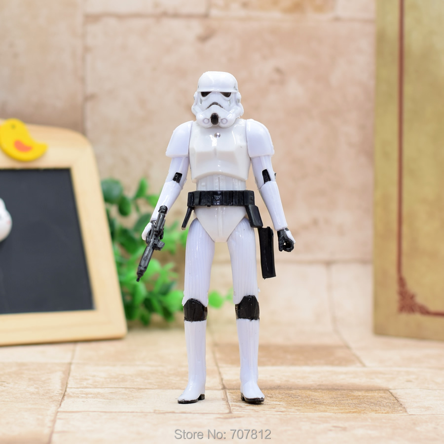 Star Wars Action Figure Strom Trooper  16CM  Cool Movie Collection Toy Best Gift ST036 star wars action figure red stromtrooper 16cm cool movie collection toy best gift st033