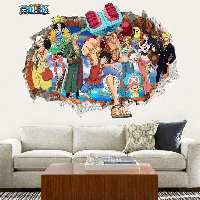 Finestre One Piece animazione 3D stereo bambini del fumetto Rufy ...