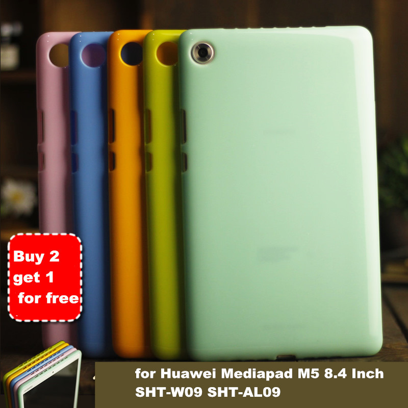 Mediapad M5 8.4 Case for Huawei Mediapad M5 8.4 Inch SHT-W09 SHT-AL09 Tablet Case Soft Silicone TPU Back Cover case touchpad bluetooth case for huawei mediapad m5 8 4 inch sht w09 sht al09 tablet pc for huawei mediapad m5 8 4 keyboard case