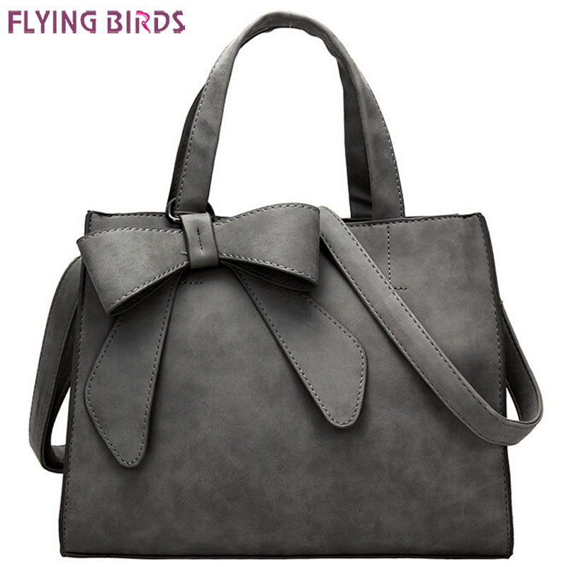 FLYING BIRDS women leather handbags women bags messenger bags shoulder bag bolsas high quality handbag female