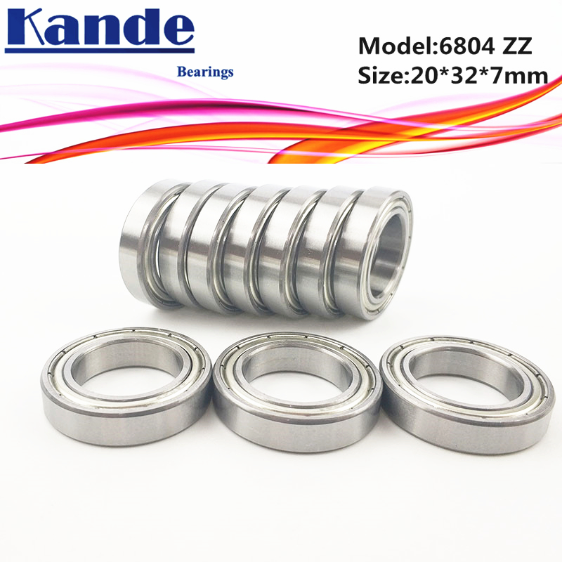 20 x 32 x 7 mm 3 Kugellager 6804 61804 ZZ