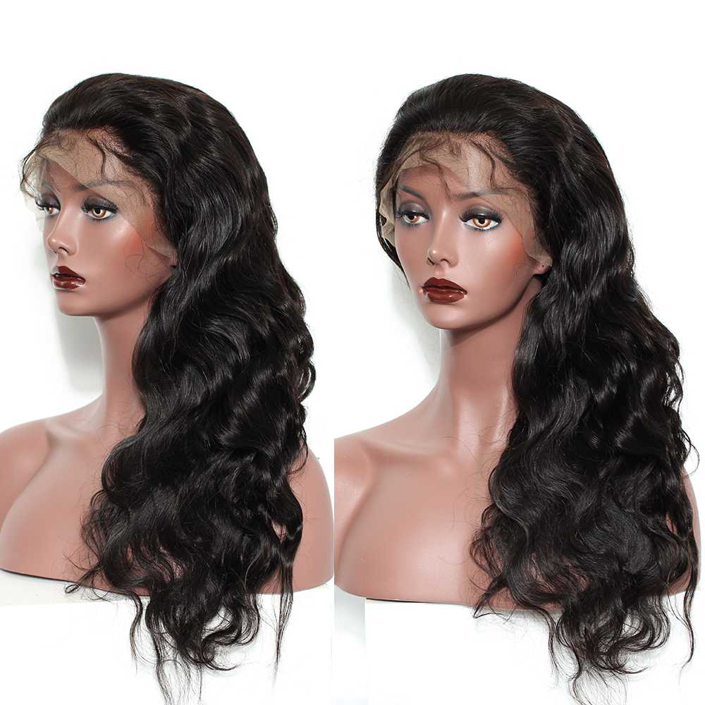 250 Density Lace Front Human Hair Wigs For Women Black Body Wave 13x6 Lace Front Wig Brazilian Wig Pre Plucked Remy