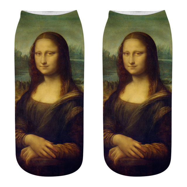 Women Mona Lisa Socks