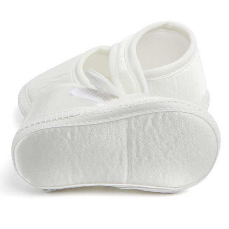 Letnie buty dla niemowląt nowonarodzone dziecko chłopcy dziewczęta bawełniane szopka buty miękkie podeszwy przypadkowi buty dla małego dziecka białe tenisówki dla 0-6 miesięcy