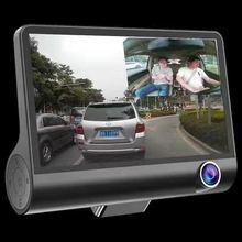 4 Inch 1080P Full Hd Auto Dvr Dash Camera 170 Graden Groothoek Video Recorder Met Achteruitrijcamera G Sensor Auto Rijden Camera