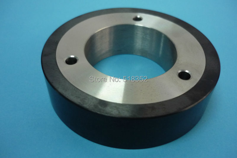 4440134 Seibu S314 Pinch Roller (Black Ceramic+SUS) for EW-K2,K3,A5S, A7S,B3S3,CS,C5S,C5S2,M3S,5S,7S WEDM-LS Machine Parts x054d256g51 x058d077g51 m402 mitsubishi white ceramic leader pinch roller main wheel od57x id10x t18mm for wedm ls machine parts