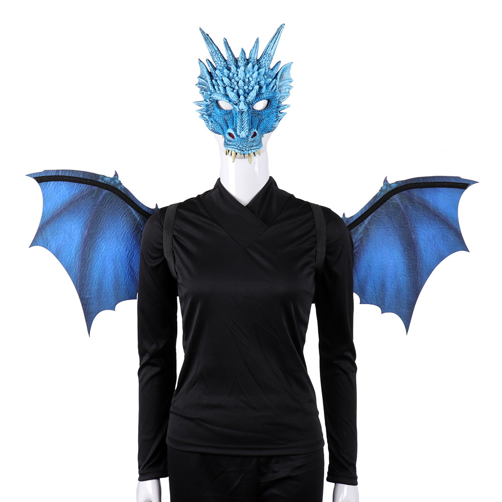 US $20 4 OFF Adult Boy and Girl New Year Decoration Carnival Party Halloween carnival adult dragon decorations Cosplay wings props