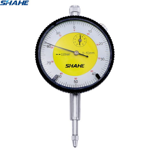 High Quality Dial Indicator Measuring Tool Metric Dial Indicator 0 01 Mm Dial Gauge With Strong Box