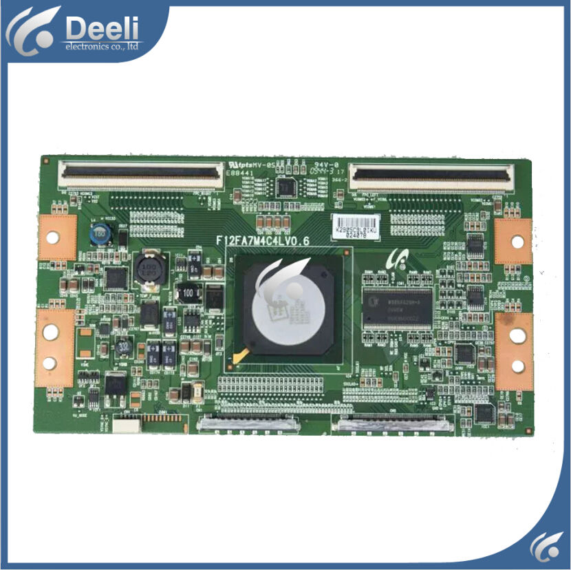 Working good 95% new original for samsung Logic board F12FA7M4C4LV0.6 LTA550HF02 T-CON board  цена и фото