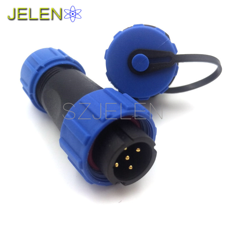 SP1310/P05 SP1312/S05, wasserdicht 5 poligen stecker, LED power ...